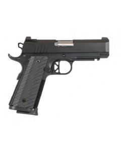 "Dan Wesson TCP 45 ACP 1911 4"" Barrel Black 8 Round Pistol 01846"