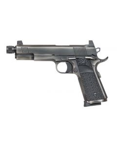 "Dan Wesson Wraith 45 ACP 1911 5.75"" Threaded Barrel Black 8 Round Pistol 01847"