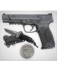 "Smith & Wesson M&P M2.0 9mm 5"" Barrel 17 Round Spec Kit Pistol 13113"