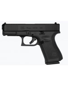 "Glock 19 Gen 5 9mm 4"" Barrel 15 Round (3 Mags) Black Pistol"