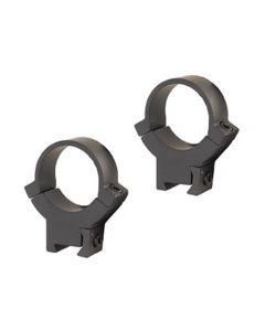 """Warne 722M 1"""" Tube Rimfire 3/8"""" 11mm Dovetail High Aluminum Scope Rings Matte Black"""