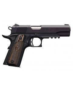 "Browning 1911-22 Black Label Full Size 22 LR 4.25"" w/ Rail 10 Rnd Pistol 051816490"