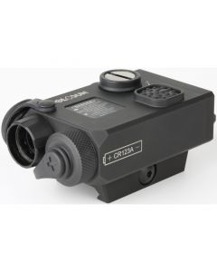 HoloSun LS221G Green Laser +IR Sight Weaver Style Rail Mounted QD Mount Black