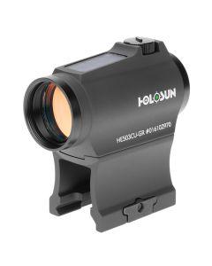 Holosun HE503CU-GR Elite 2 MOA Circle Dot Solar Green Dot Sight 1x20mm Shake Awake